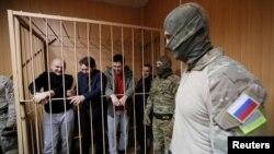 Украінскія маракі ў расейскім судзе, 15 студзеня 2019