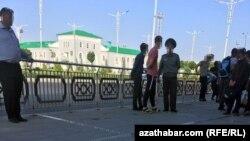 Demirýol stansiýasy, Türkmenistan (arhiw suraty)
