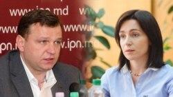 Maia Sandu şi Andrei Năstase au bătut palma pentru alegerile din acest an