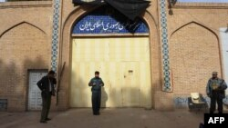 The Iranian Consulate in Herat has been the scene of several violent demonstrations in recent years. (file photo)