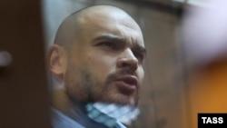 Максим Марцинкевич в суде, август 2014 года