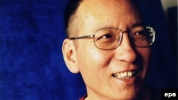 An undated image of jailed Chinese dissident and civil rights activist Liu Xiaobo in Beijing, China