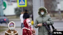 Minsk residents feared a massive outbreak of swine flu.