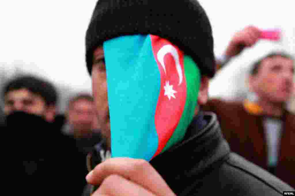 Protest Violence Erupts In Azerbaijan #15