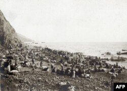 Туркиялъул ралъдал рагIаллъиялда тIурун чIарал эрменал.1915 сон