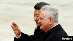 Tomisav Nikolić, ranije sa kineskim predsjednikom Si Đinpingom, kaže da ima podršku Kine za projekat