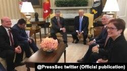 ԱՄՆ-ի և Ուկրաինայի նախագահներ Դոնալդ Թրամփի և Պետրո Պորոշենկոյի հանդիպումը Սպիտակ տանը, 20-ը հունիսի, 2017թ․