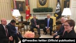 Sastanak američkog predsjednika Donalda Trumpa sa ukrajinskim kolegom Petrom Porošenkom