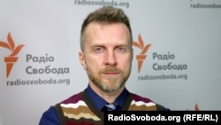 Антін Мухарський у студії Радіо Свобода. Київ, 2016 рік