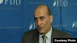 الباحث وليد فارس في مؤسسة الدفاع عن الديمقراطيات بواشنطن