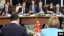 Архивска фотографија: Пристапен дијалог на високо ниво Македонија-ЕУ.