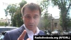 Замість відповідати на запитання журналіста Сергій Березенко перейшов до звинувачень