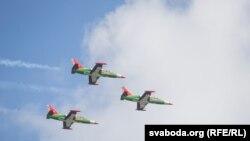 Літаки Л-39 у Білорусі
