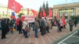 RUSSIA, Angarsk, rally against raising the retirement age