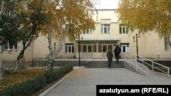 Շիրակի Պետհամալսարանի շենքը Գյումրիում, արխիվ