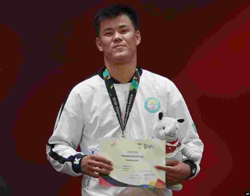Дидар Хамза - дзюдодар ерлер арасында 81 келіде Азия ойындарының чемпионы.