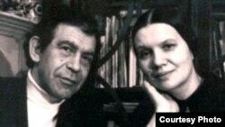 Юлий Даниэль и Ирина Уварова. Фото из семейного архива