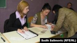 Glasanje u Srebrenici, 7. oktobar 2012.