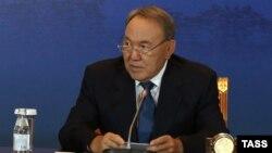 Қазақстан президенті Нұрсұлтан Назарбаев. Бурабай, 29 мамыр 2015 жыл.