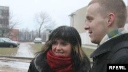 Наста Палажанка і Зьміцер Дашкевіч, Акрэсьціна, 31.01.2008