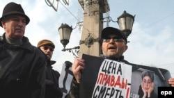 Российские лидеры не смогли не заметить общественного резонанса, вызванного убийством Анны Политковской