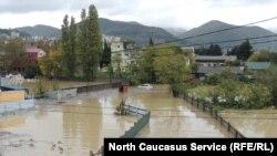 Наводнение в Краснодарском крае, архивное фото