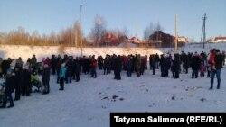 Встреча жителей микрорайона Заречный в Томске
