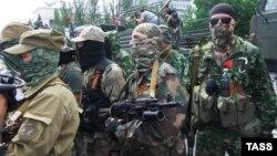 Бойовики угруповання «ДНР», яке в Україні визнане терористичним