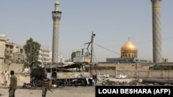 The holy Sayyida Zeinab shrine has been a frequent target of suicide and car bombings in Syria's civil war. (file photo)