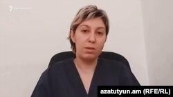 Инфекционист инфекционной больницы «Норк» Наира Степанян, 25 мая 2020 г.