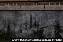 Вікна корпусу Київського міського центру судово-психіатрічної експертизи