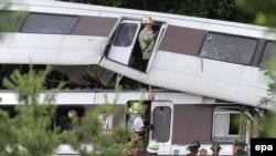 Железнодорожная авария в США. Иллюстративное фото.