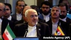 Міністр закордонних справ Ірану Мохаммад Джавад Заріф (на фото) підтвердив, що позов до Міжнародного суду був поданий