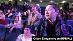 Астанадағы аналар жиыны. 15 ақпан 2019 жыл.