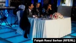 الشعر عريان السيد خلف والمطرب عبد فلك يتحدثان في أمسية بعمّان