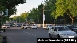 Ташкенттегі көшелердің бірі.