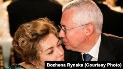 Божена Рынска и Игорь Малашенко