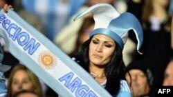 Болельщики сборной Аргентины в финале Copa America