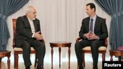 Жавад Зариф менен Сирия президенти Башар Асад жолугууда
