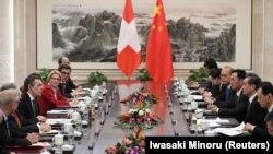 Встреча министров иностранных дел Китая и Швейцарии