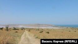 Озеро Чокрак, липень 2019 року