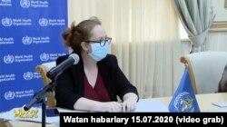 BSG-niň Türkmenistana baran toparynyň başlygy Katrin Smallwood