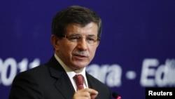 احمد داود اغلو وزیر خارجهء ترکیه