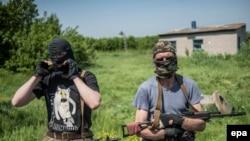 Ҷудоиталабони тарафдори Русия дар Словянск