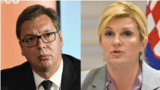 Predsednik Srbije Aleksandar Vučić i predsednica Hrvatske Kolinda Grabar-Kitarović