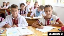 Урок в одній з українських шкіл