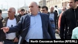 Муса Мусаев в период мэрской работы