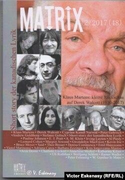 Revista Matrix redactată și publicată de editorul Traian Pop, lansată sîmbătă la standul românesc