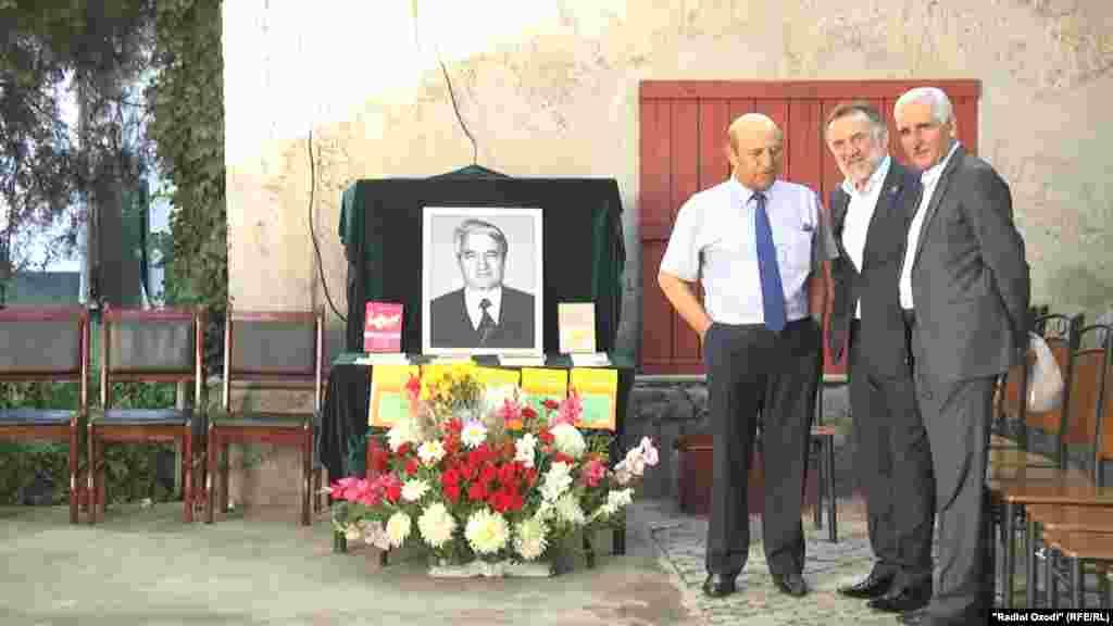 Tajikistan,Dushanbe city, funeral ceremony of tajik famous historian Rahim Masov, 22June2018