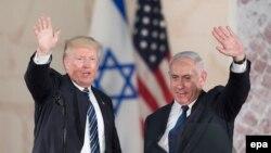 Presidenti i SHBA-së, Donald Trump dhe kryeministri i Izraelit, Benjamin Netanyahu. Foto nga arkivi